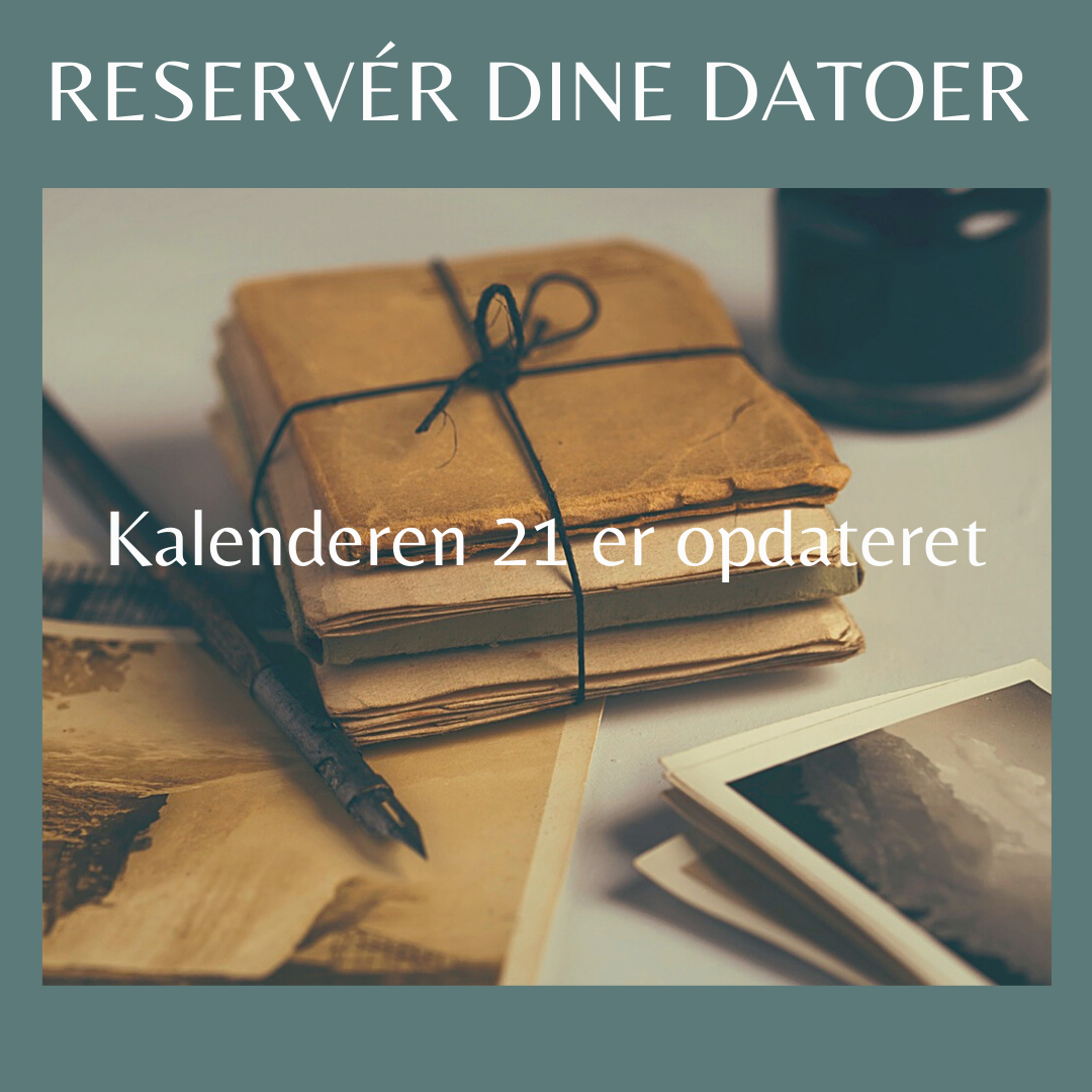 Read more about the article Kalender 21 opdateret